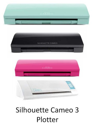 This is a picture of Silhouette Printable Vinyl inside inkjet printer