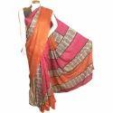 Party Wear Printed Banarasi Silk Sarees