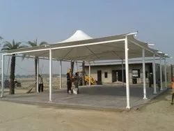 Steel Gazebo Tensile Structure