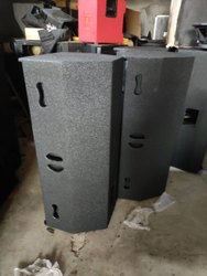 2 Black Dj Sound System, For Big Event