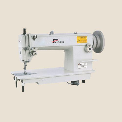 White Automatic Single Needle Heavy Duty Lockstitch Sewing Machine Amazing White Heavy Duty Sewing Machine