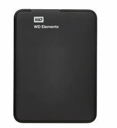 1 TB Black WD Elements 1TB USB 3.0 Portable External Hard Drive