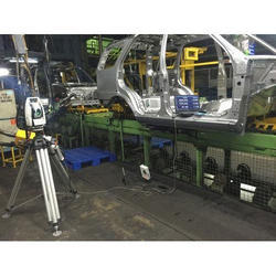 Large Components Inspections With Laser Tracker