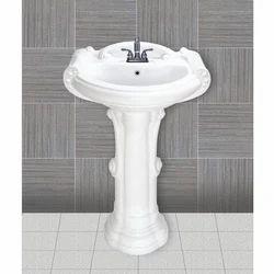 Tarryware Ceramic Big Sterling Plain Wash Basin, For Home,Hotel