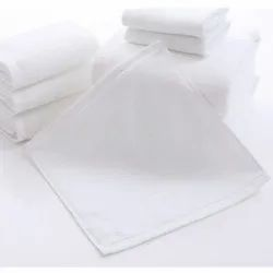 White Face Towel