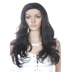 Fiber Synthetic Wavy Curly Hair Wig