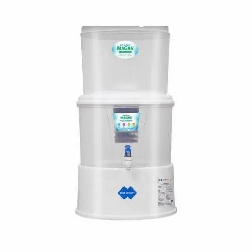 Blue Mount Gravity Mineral Magna Plus Water Purifier, Model: BM11