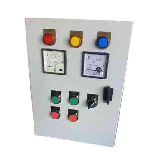 Galvanized Aluminium 220 Volt Timer Control Panel, for Submersible Pump