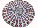 Indian Round Mandala Printed Wall decor Tapestry
