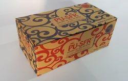 Printed Kraft Craft Box for Food