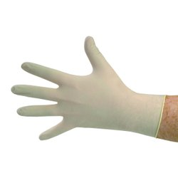 Latex Powdered Surgical Rubber Gloves Sterile