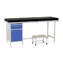 1 Cabinet Hospital Examination Couch
