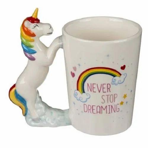 3d Unicorn ,coffee Tea Mug