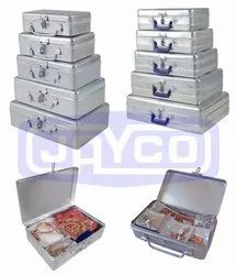 JAYCO Aluminium Metal Jewel Packing Box
