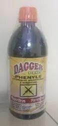 Dagger Plus Black Phenyle, Packaging Type: Bottle
