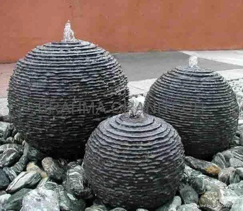 Black granite garden stone balls size 36 rs 50000 ounce id black granite garden stone balls size 36 workwithnaturefo