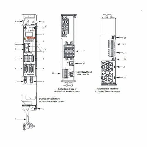 Allen Bradley 2198-P031 DC-Bus Power Supply Kinetix 5700