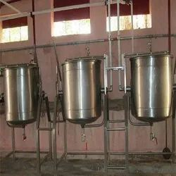 DOUBLE JACKETED VESSEL FOR SAMBAR 40Ltrs