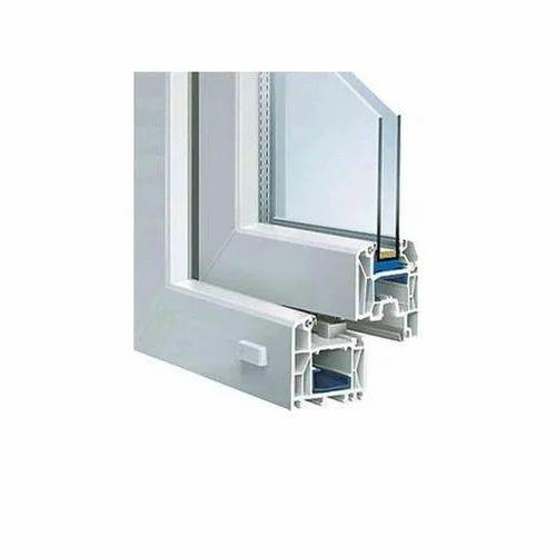 Simta White UPVC Door Profile, Rs 120 /kilogram, Simta Clear Coats ...
