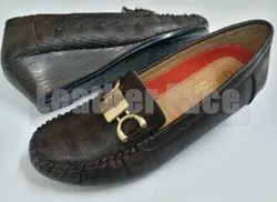 Leather Face - Heeled Loafers