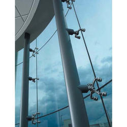 Spider Fitting Glass Partition