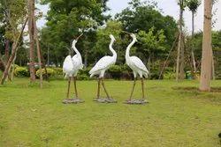 Resin Bird Statues