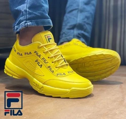 Daily Wear Fila Branded Shoes, Size: 6