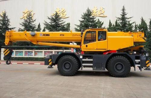 XCMG RT50 50 ton Rough-Terrain Crane