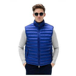 Polyester/Nylon Mens Sleeveless Jacket