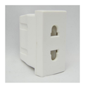 White Tito 2 Pin Socket
