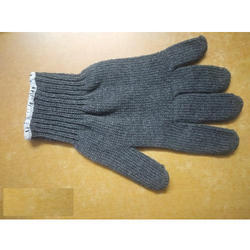 60 GSM Cotton Knitted Gloves