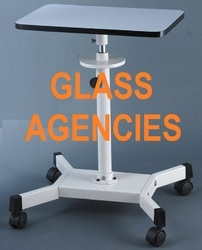 Surgical Equipments Manual Slit Lamp Table, For Hospital