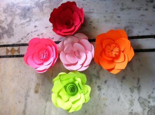 Handmade paper flowers various colorsdesignssizes at rs 50 handmade paper flowers various colorsdesignssizes mightylinksfo