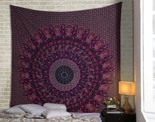 Genera Cotton Mandala Printed Wall Hangings Tapestry