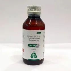 Terbutaline Sulphate 1.25 Mg ,  Bromhexine Hcl 2 Mg, Guaiphenesin 50 Mg Expectorant