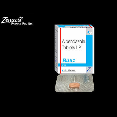 Banz Albendazole Tablets, Packaging Type: Blister