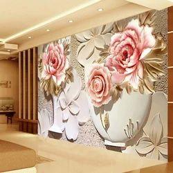 Pvc Flower Design 3d Wallpaper Rs 60 Square Feet Craze Wall Decor