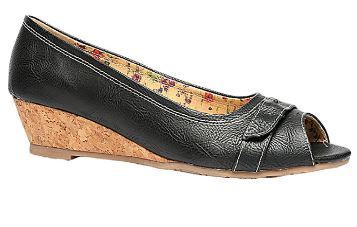 d6b37b3b5fc1 Bata Black Wedges For Women F651635700 at Rs 1099