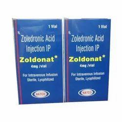 Zoldonat Zoledronic Acid Injection IP 4mg