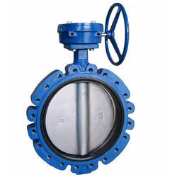 Gear Operated Flanged End Butterfly Valve