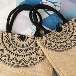 Jute Fancy Bag