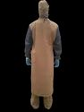 Gown Full Front Covering And Sleeve Water Repellents Fabric