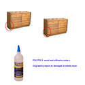 Polyfix Wood Seal  for Repairing Split and Holes in Wood