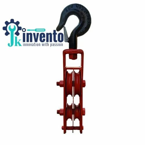 Four Sheave Pulley for Electrical Transmission Line Stringing & Tower Erection