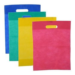 Optional D Cut Non Woven Grocery Carry Bag, Capacity: 1 to 2 kg, for Shopping
