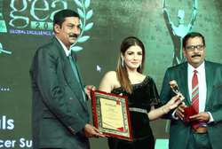 GLOBAL EXCELLENCE AWARDS 2018 for most trusted Ayurvedic cancer medicine manufacturer in india