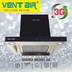 SIGMA MUSIC 60 Ventair Kitchen Chimney