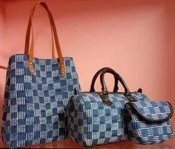 SNF Printed Ladies Bag Set