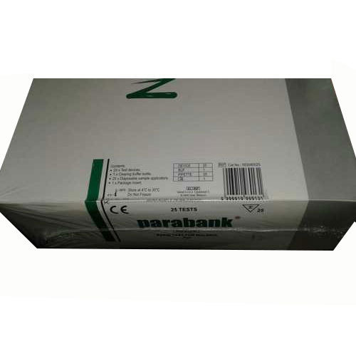 Parabank Rapid Test For Malaria