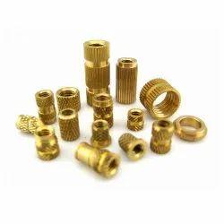 Round Brass Wood Inserts